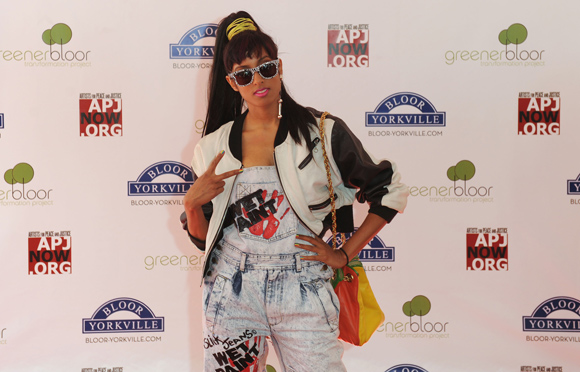 Anjulie celebrate bloor recap red carpet toronto