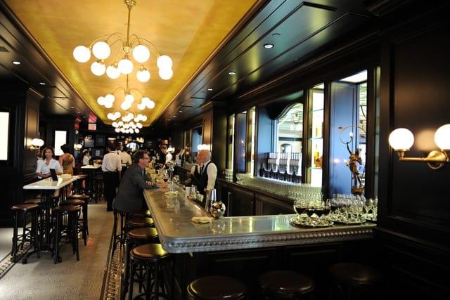 la societe bar inside bistro toronto