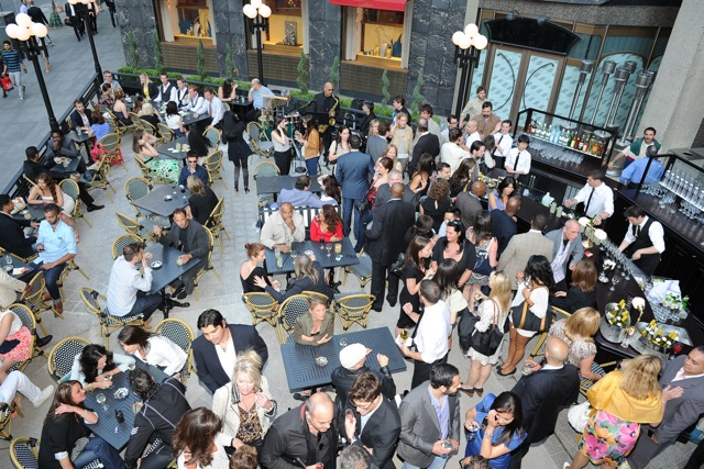 la societe toronto patio bloor st opening