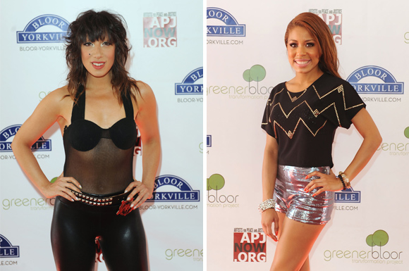 lady starlight dj keshia chante celebrate bloor recap red carpet toronto