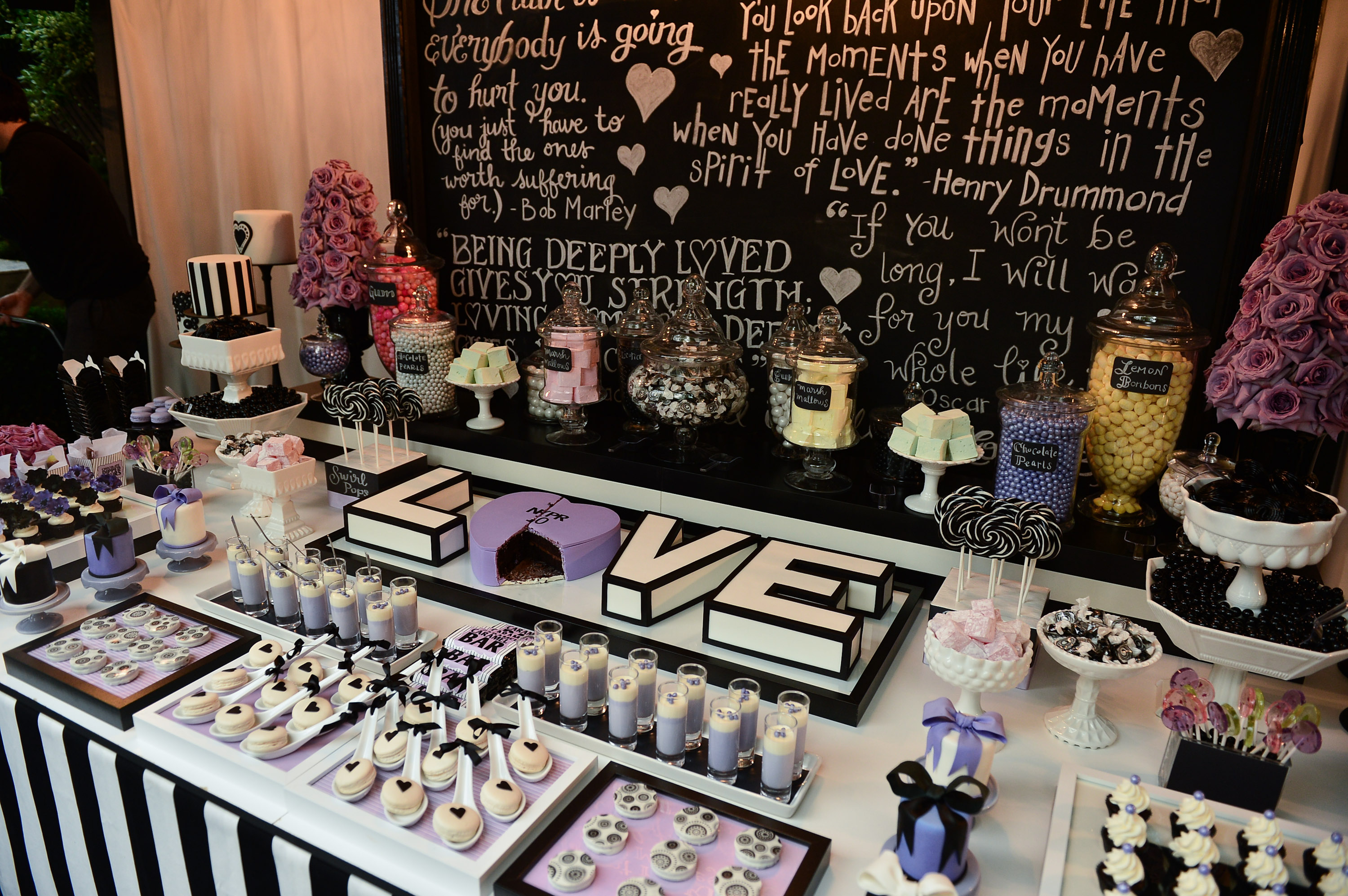 Stunning sweet table from Petite & Sweet!