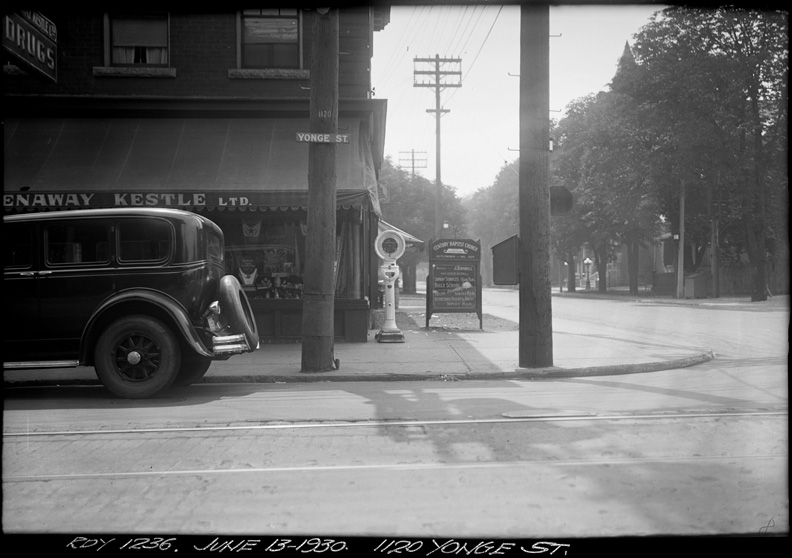 June 13, 1930, City of Toronto Archives by Arthur S. Goss. On display at the Ryerson Image Centre