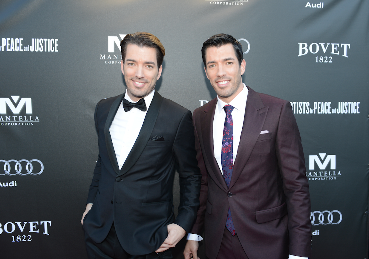 Property Brother's Jonathan and Drew Scott