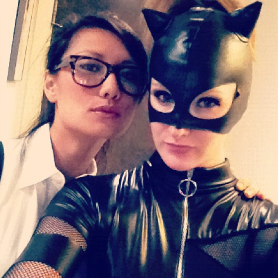 Meow, Meg makes the perfect Catwoman
