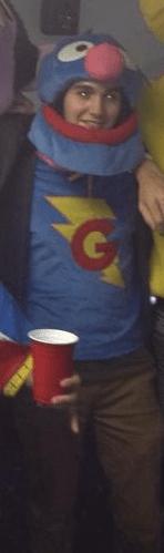 Nathan as Super Grover