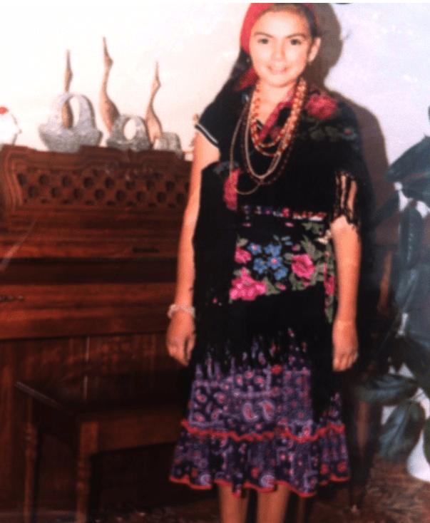 Natasha as fabulous as ever as a gypsy