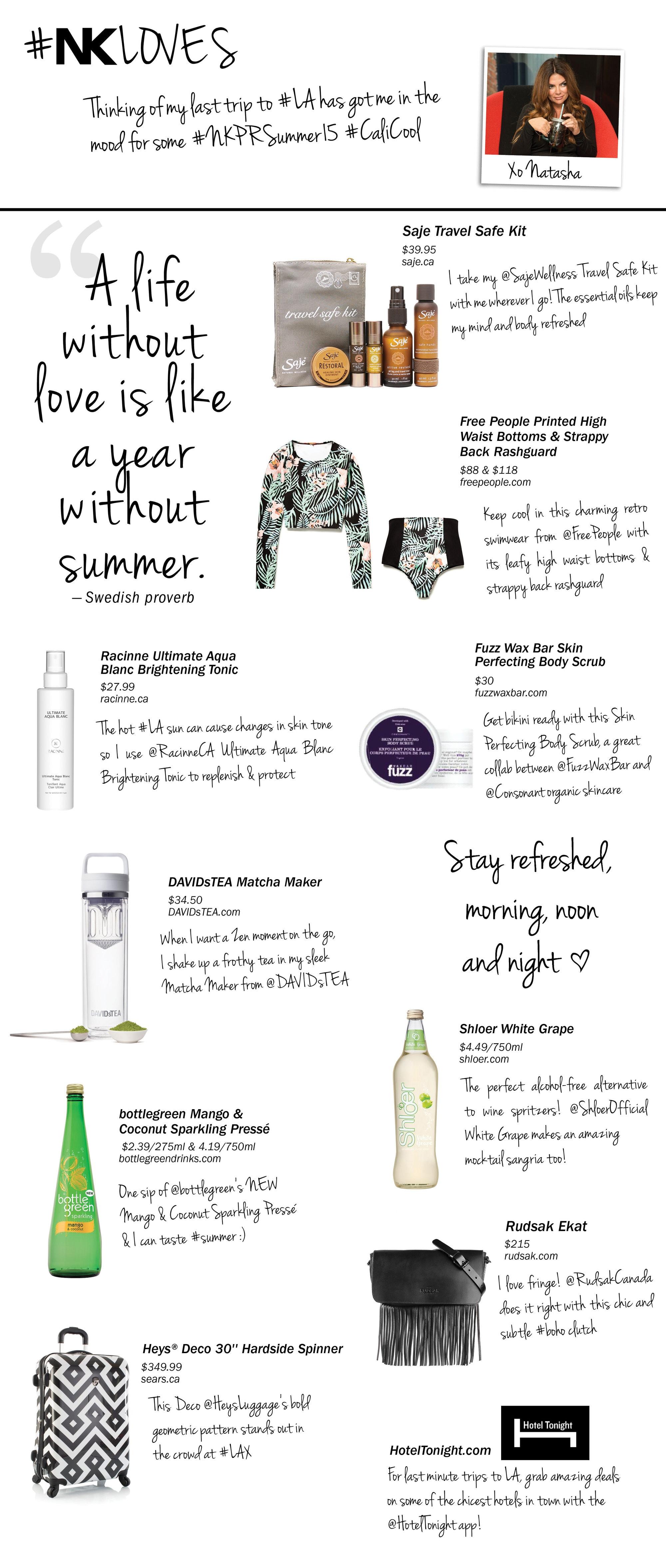 Top Ten Summer NKLoves