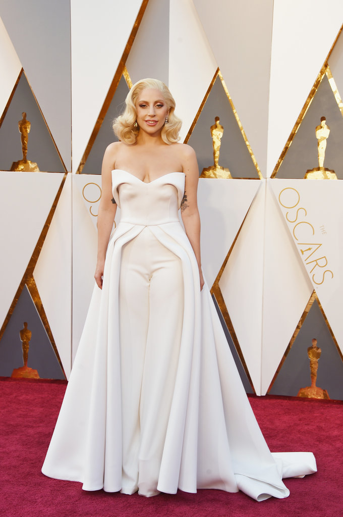 Oscars Best Dressed Lady Gaga