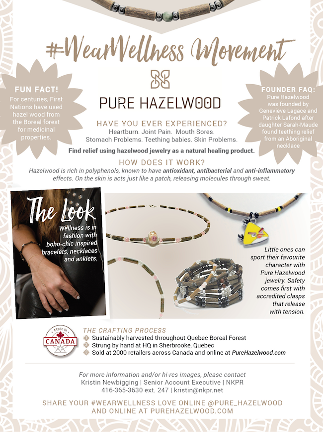 Pure Hazelwood Wear Wellness Trend Report