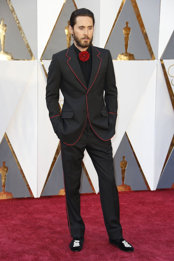 Oscars Red Carpet Jared Leto
