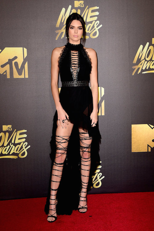 MTV Movie Awards Best Dressed Kendall Jenner