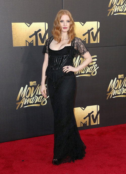 MTV Movie Awards Best Dressed Jessica Chastain