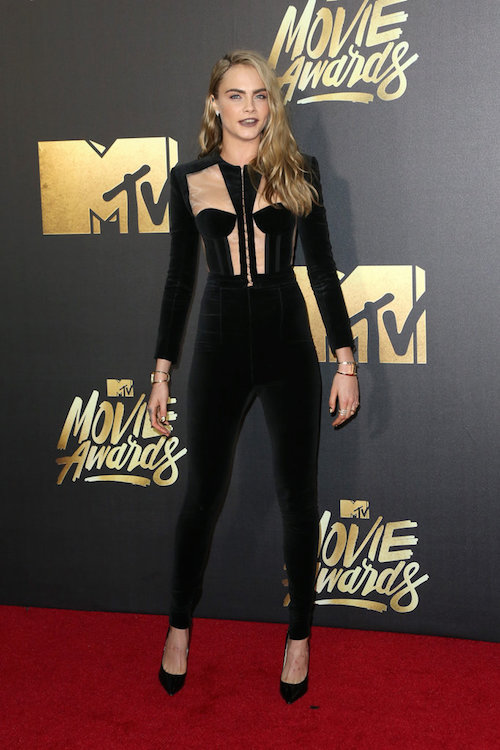 MTV Movie Awards Best Dressed Cara Delevingne