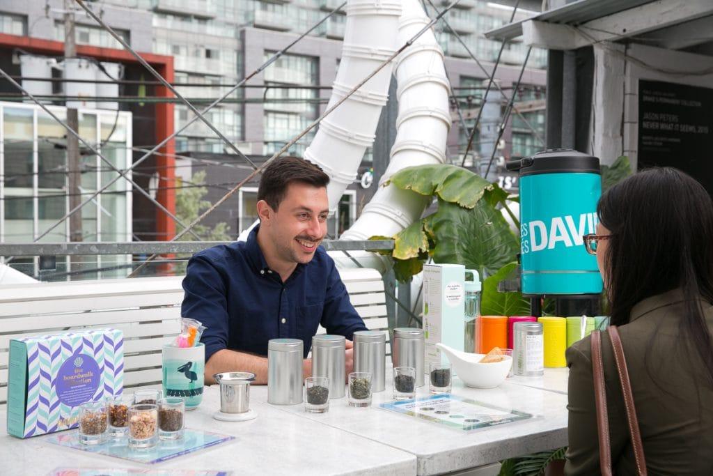 DAVIDsTEA Rooftop Iced Tea Party