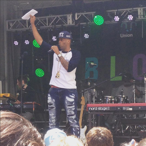 Kardinall Offishall hosting the TD Union Block Party