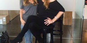 Actress Tara Spencer-Nairn & Celebrity Artist Sarah Lucero