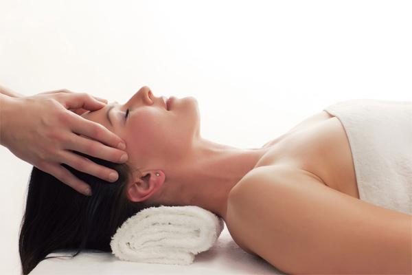 spa treatment facial massage