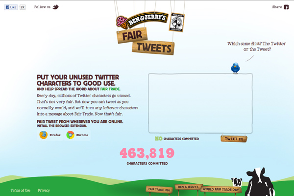 ben jerry's fair tweets screenshot