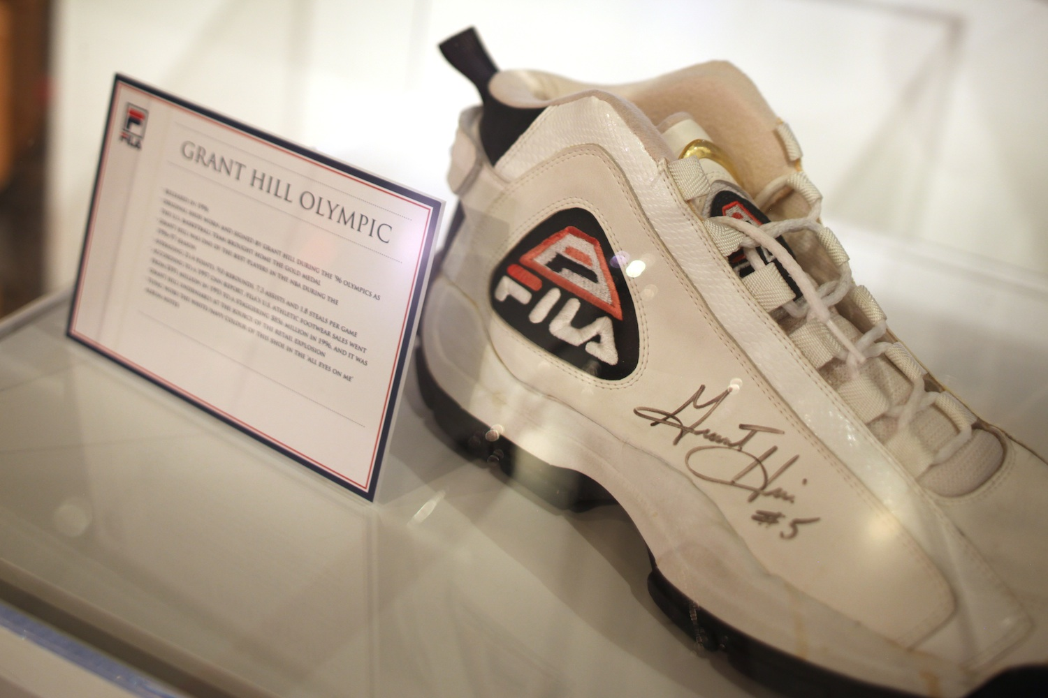 """8a63c46bcf3b Fila walks into the Bata Shoe Museum s exhibit """"Out of the Box  The ..."""