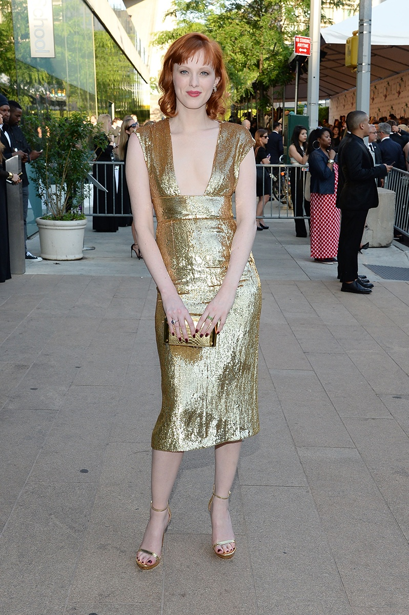 Karen Elson in Michael Kors