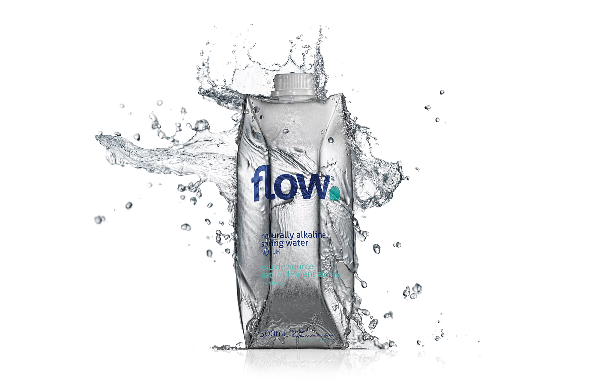 Flow water is nurtured for thousands of years in a deep,