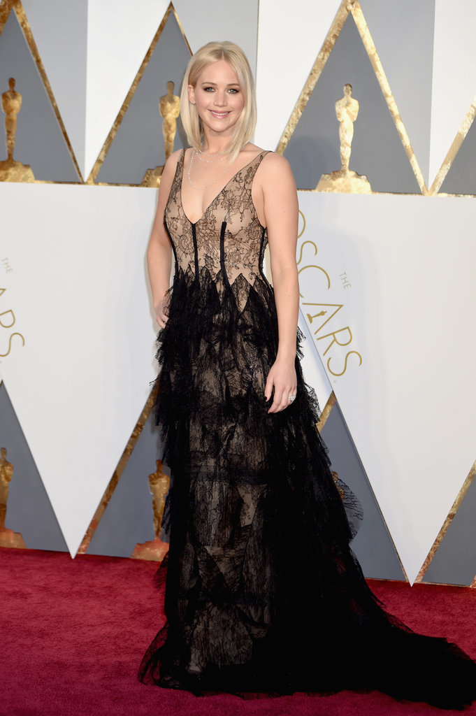 Oscars Best Dressed Jennifer Lawrence