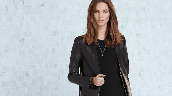 Rudsak x Emily Haines Signature Leather Jacket