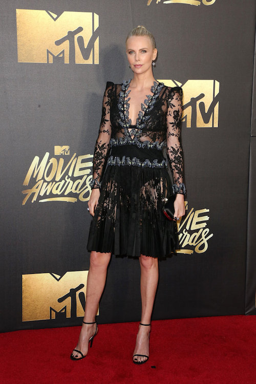 MTV Movie Awards Best Dressed Charlize Theron
