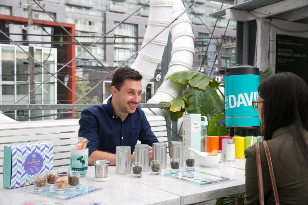 DAVIDsTEA Rooftop Iced Tea Party