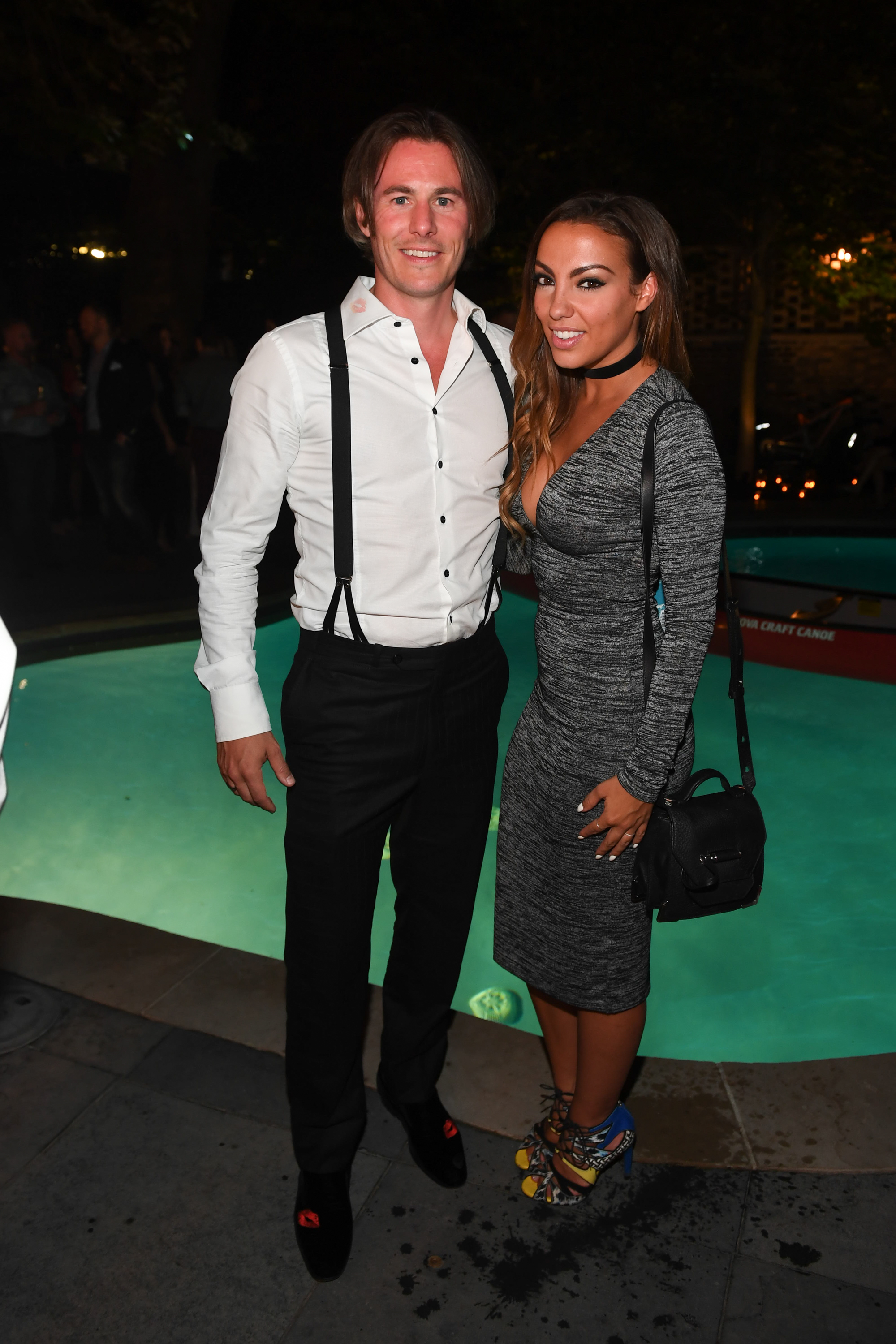 Christopher Bates, designer and Laura Ward, ET Canadaat NKPR Film Festival Countdown Event. PR by NKPR.