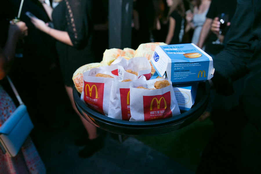 MacDonalds at NKPR Film Festival Countdown Event. PR by NKPR.