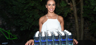 Flow water at MEC Activation at DJ Michael Del Zotto at NKPR Film Festival Countdown Event. PR by NKPR.