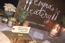 Emma's Eatery at NKPR Film Festival Countdown Event. PR by NKPR.