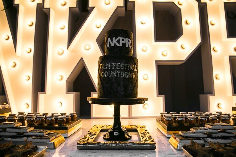 Cake by Mickey at NKPR Film Festival Countdown Event. PR by NKPR.