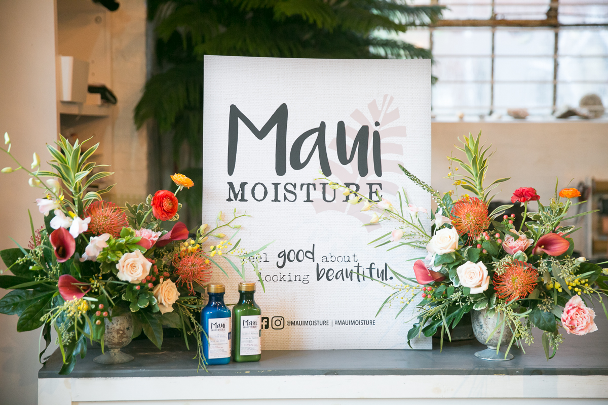OGX Maui Moisture Beauty PR event by NKPR