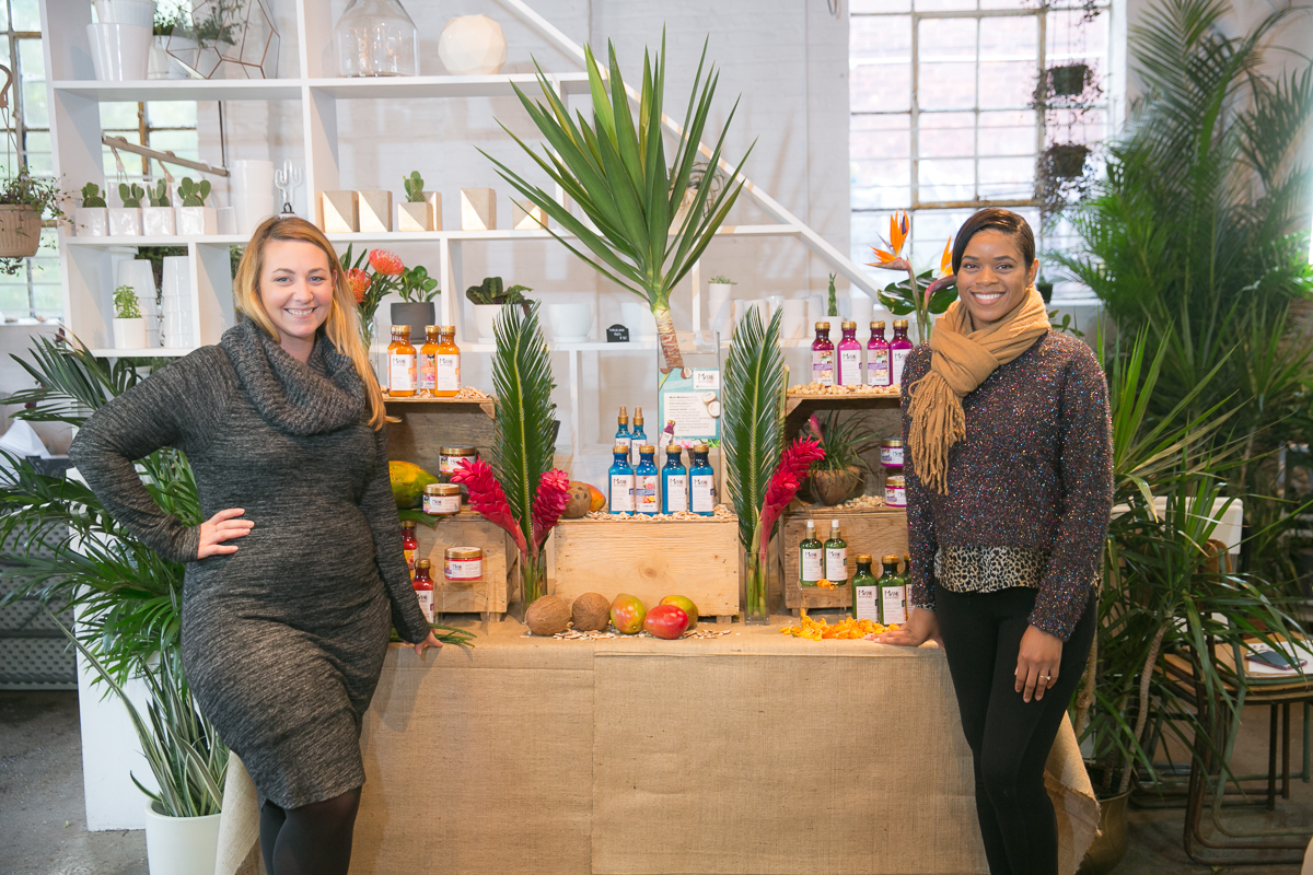OGX Maui Moisture Clients at Beauty PR Event by NKPR