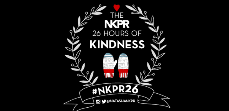 NKPR 26 Hours of Kindness 2016