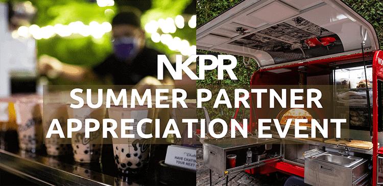Summer Partner Appreciation Event